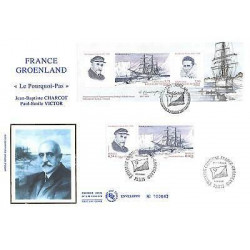 FDC GF soie -  France...