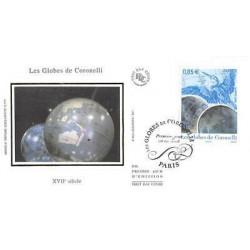 FDC soie - Tableau - Les...