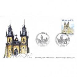 FDC LNF - Prague - Eglise...