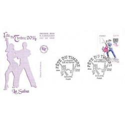 FDC - Fête du timbre 2014,...