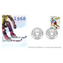 FDC LNF - Sport. Le skieur...