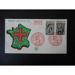 FDC - Croix rouge 1961,...
