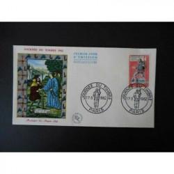 FDC - Journée du timbre 62...