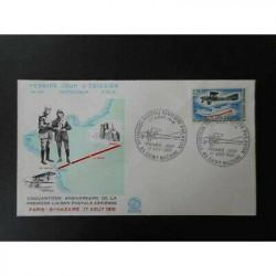 FDC - 1ère liaison postale...