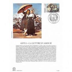 Encart papier glacé - Goya,...