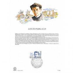 Encart papier glacé - Louis...