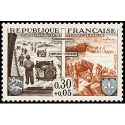 Timbre de France N° 1409
