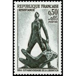 Timbre de France N° 1411