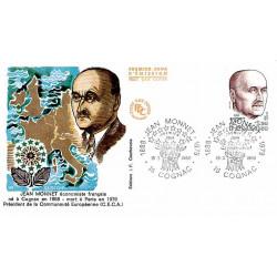 FDC JF - Jean Monnet, économiste français - 15/3/1980 Cognac
