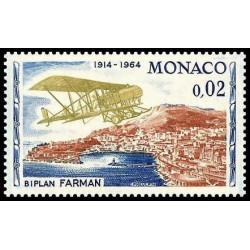 Timbre de Monaco N° 638...