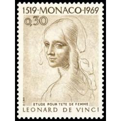 Timbre de Monaco N° 799...