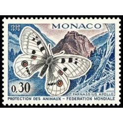 Timbre de Monaco N° 809...