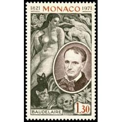 Timbre de Monaco N° 867...