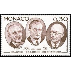 Timbre de Monaco N° 1046...
