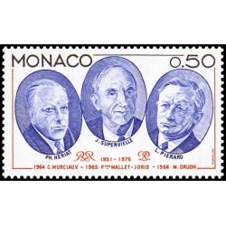 Timbre de Monaco N° 1047...