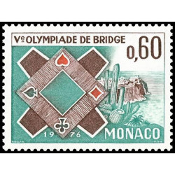 Timbre de Monaco N° 1052...