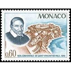 Timbre de Monaco N° 1067...