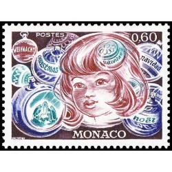 Timbre de Monaco N° 1072...