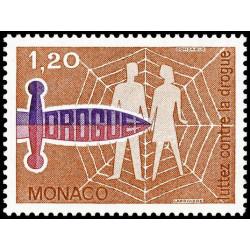 Timbre de Monaco N° 1075...
