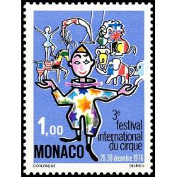 Timbre de Monaco N° 1078...