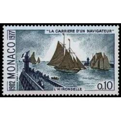 Timbre de Monaco N° 1084...