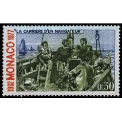 Timbre de Monaco N° 1086...