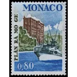 Timbre de Monaco N° 1134...
