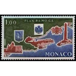 Timbre de Monaco N° 1135...