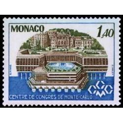 Timbre de Monaco N° 1137...