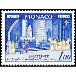 Timbre de Monaco N° 1175...