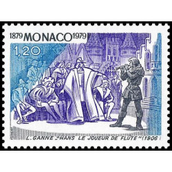 Timbre de Monaco N° 1176...