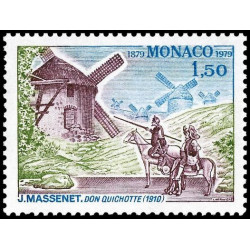 Timbre de Monaco N° 1177...