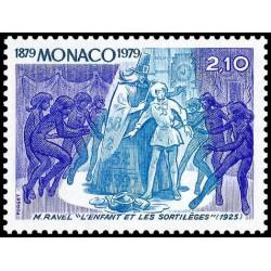 Timbre de Monaco N° 1179...