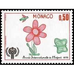 Timbre de Monaco N° 1181...