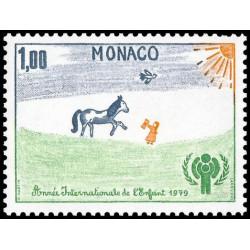 Timbre de Monaco N° 1182...