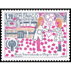 Timbre de Monaco N° 1183...