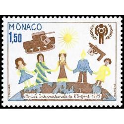Timbre de Monaco N° 1184...