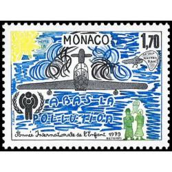 Timbre de Monaco N° 1185...