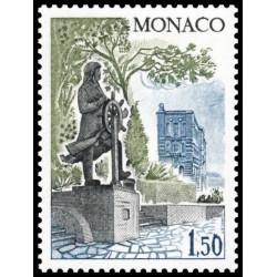 Timbre de Monaco N° 1216