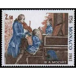 Timbre de Monaco N° 1271...