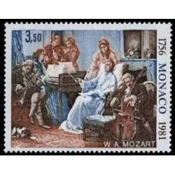 Timbre de Monaco N° 1272...