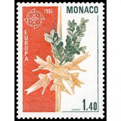 Timbre de Monaco N° 1273...