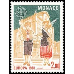 Timbre de Monaco N° 1274...
