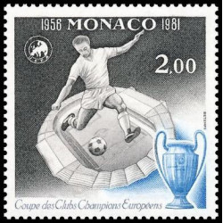 Timbre de Monaco N° 1275...