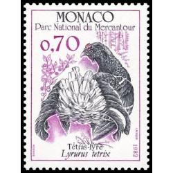 Timbre de Monaco N° 1317