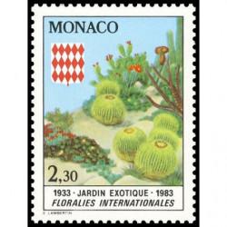 Timbre de Monaco N° 1362