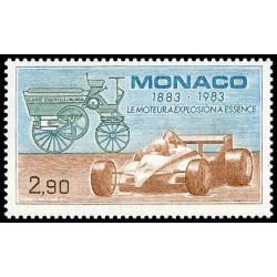 Timbre de Monaco N° 1371...