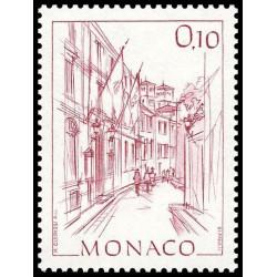 Timbre de Monaco N° 1405
