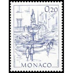 Timbre de Monaco N° 1407