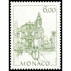 Timbre de Monaco N° 1411